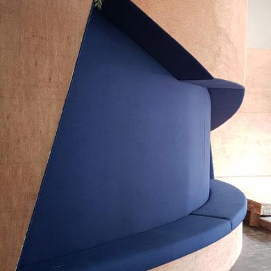 Google Nigeria Office Interior Design woodwork 4