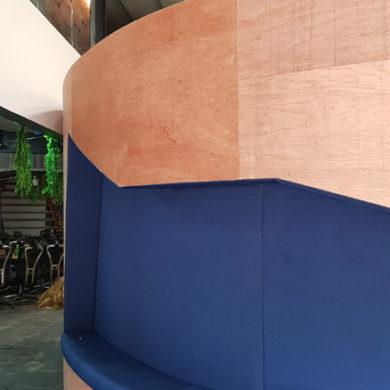Google Nigeria Office Interior Design woodwork 5