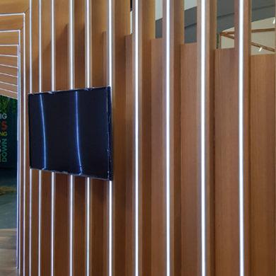 Google Nigeria Office Interior Design woodwork 9