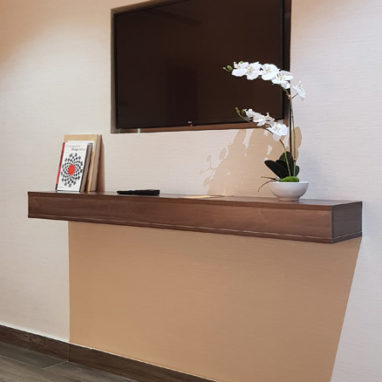Hotel Lobby Wardrobes Ledges Woodworks WC Cubicles 8