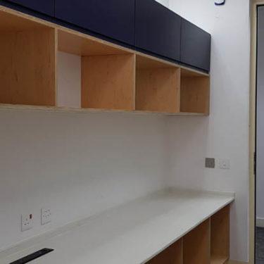 McKinzey Company interior design wood work 11