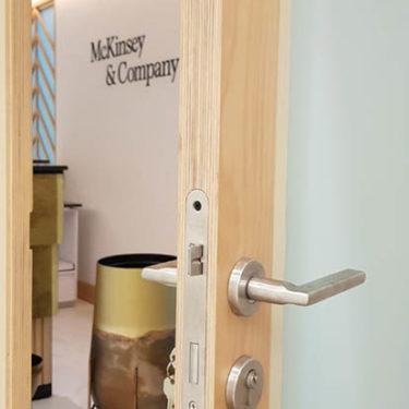 McKinzey Company interior design wood work 4