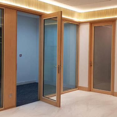 McKinzey Company interior design wood work 5