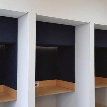 McKinzey Company interior design wood work 8