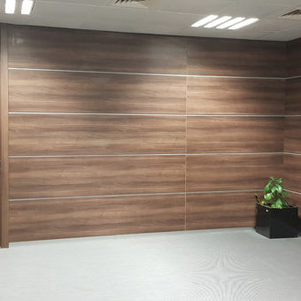 Wall Cladding Doors Corporate Offices 12
