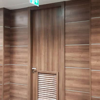 Wall Cladding Doors Corporate Offices 14