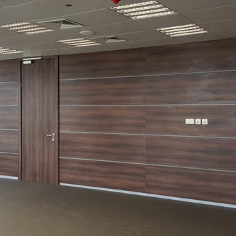 Wall Cladding Doors Corporate Offices 2