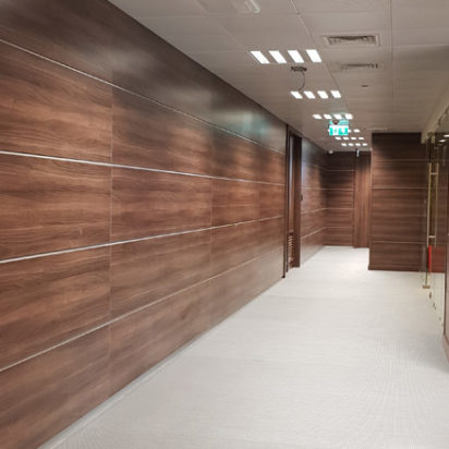 Wall Cladding Doors Corporate Offices 3