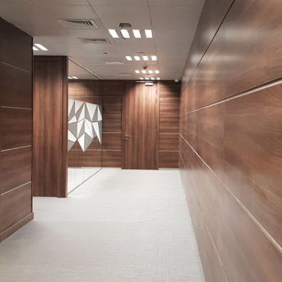 Wall Cladding Doors Corporate Offices 4