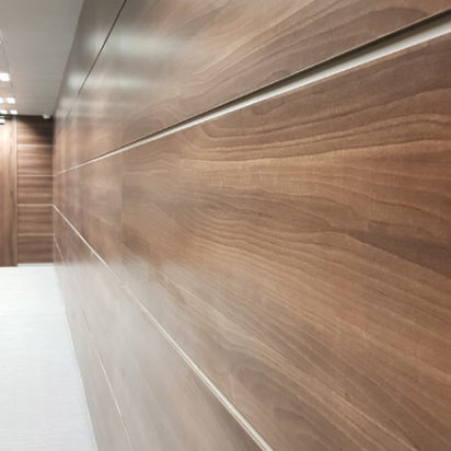 Wall Cladding Doors Corporate Offices 5