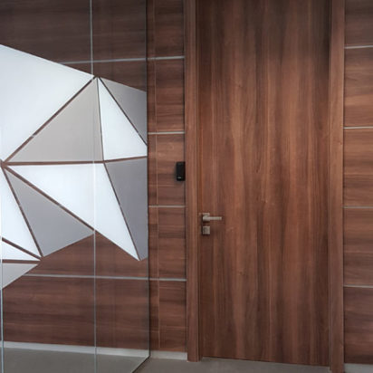 Wall Cladding Doors Corporate Offices 6