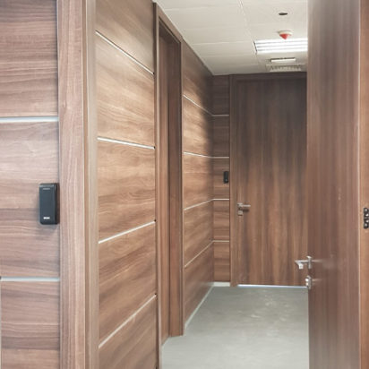 Wall Cladding Doors Corporate Offices 9