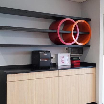 mastercard igeria company wood work installation 9