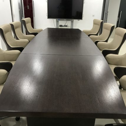 villa group wood design luxury nigeria lagos corporate table meeting room 3