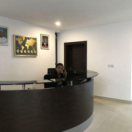 villa group wood design luxury nigeria lagos corporate table meeting room