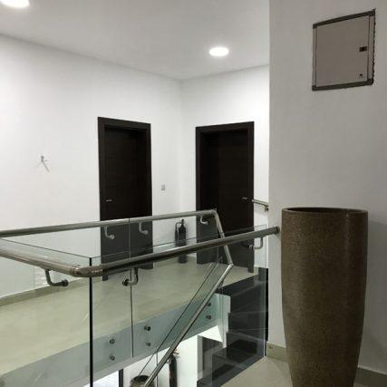 villa group wood design luxury nigeria lagos corporate table meeting room 8