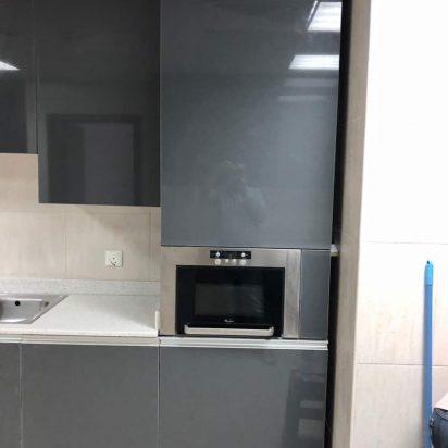 wood kitchen installation drawers countertops doors 2