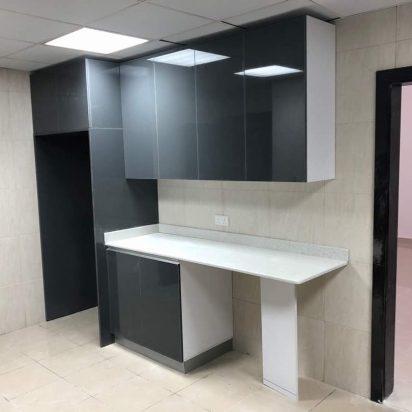 wood kitchen installation drawers countertops doors 3